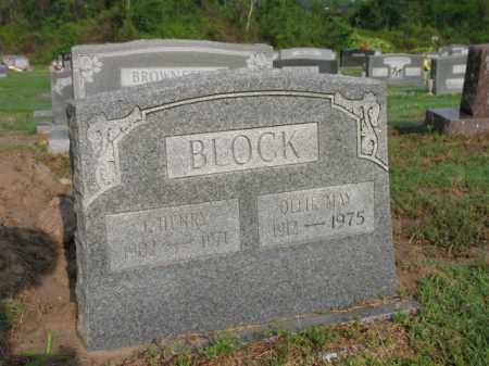 BLOCK, OLLIE MAY - Jackson County, Arkansas | OLLIE MAY BLOCK - Arkansas Gravestone Photos