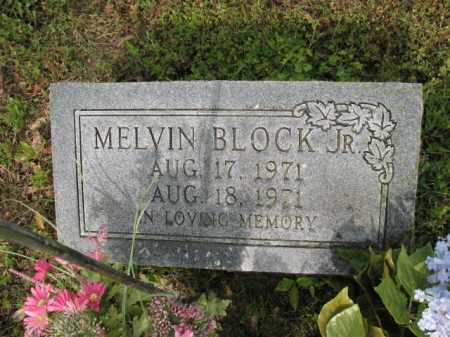 BLOCK, JR, MELVIN - Jackson County, Arkansas | MELVIN BLOCK, JR - Arkansas Gravestone Photos