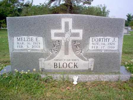 BLOCK, DORTHY J - Jackson County, Arkansas | DORTHY J BLOCK - Arkansas Gravestone Photos