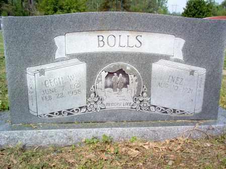 BOLLS, CECIL W - Jackson County, Arkansas | CECIL W BOLLS - Arkansas Gravestone Photos
