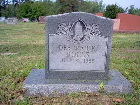 BOLLS, DEBORAH K - Jackson County, Arkansas   DEBORAH K BOLLS - Arkansas Gravestone Photos