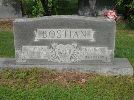 BOSTIAN, ESTHER - Jackson County, Arkansas | ESTHER BOSTIAN - Arkansas Gravestone Photos