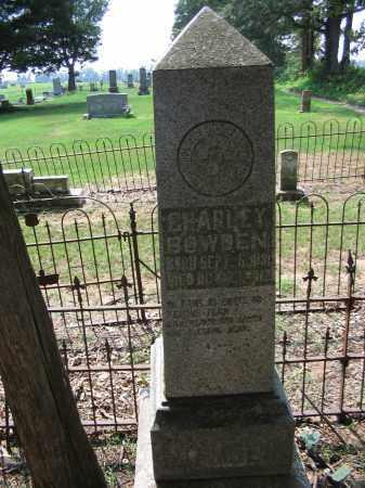 BOWDEN, CHARLEY - Jackson County, Arkansas | CHARLEY BOWDEN - Arkansas Gravestone Photos