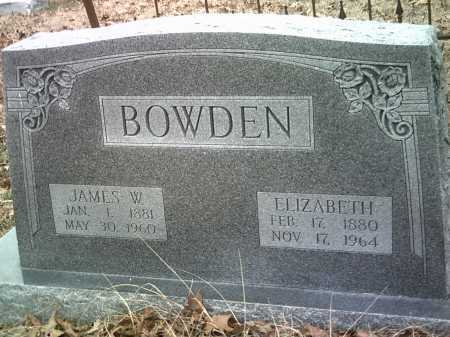 BOWDEN, JAMES W. - Jackson County, Arkansas | JAMES W. BOWDEN - Arkansas Gravestone Photos