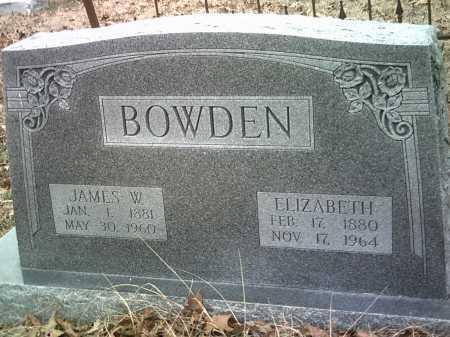 BOWDEN, ELIZABETH - Jackson County, Arkansas | ELIZABETH BOWDEN - Arkansas Gravestone Photos