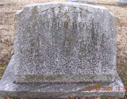 BOWIE, ARTHUR - Jackson County, Arkansas | ARTHUR BOWIE - Arkansas Gravestone Photos