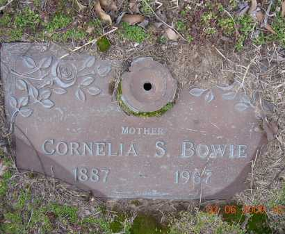 SIMMONS BOWIE, ELEANOR CORNELIA - Jackson County, Arkansas | ELEANOR CORNELIA SIMMONS BOWIE - Arkansas Gravestone Photos