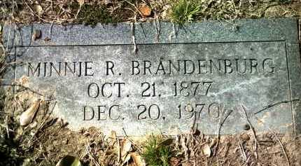 BRANDENBURG, MINNIE R - Jackson County, Arkansas | MINNIE R BRANDENBURG - Arkansas Gravestone Photos