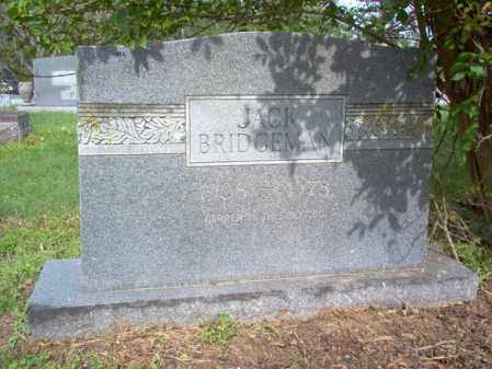 BRIDGEMAN, JACK - Jackson County, Arkansas | JACK BRIDGEMAN - Arkansas Gravestone Photos