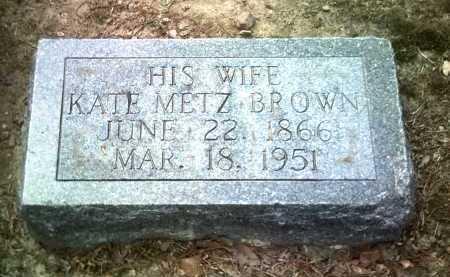 BROWN, KATE - Jackson County, Arkansas | KATE BROWN - Arkansas Gravestone Photos