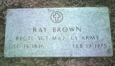 BROWN (VETERAN), RAY - Jackson County, Arkansas | RAY BROWN (VETERAN) - Arkansas Gravestone Photos