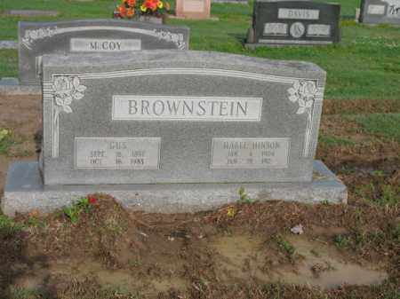 BROWNSTEIN, GUS - Jackson County, Arkansas | GUS BROWNSTEIN - Arkansas Gravestone Photos