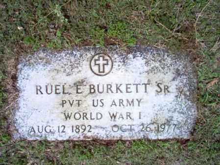 BURKETT, SR  (VETERAN WWI), RUEL E - Jackson County, Arkansas | RUEL E BURKETT, SR  (VETERAN WWI) - Arkansas Gravestone Photos