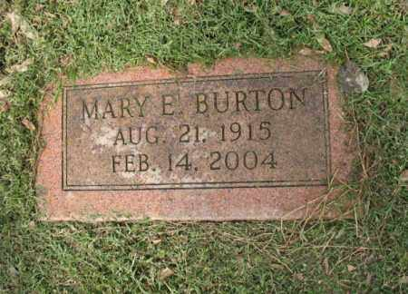 BURTON, MARY E - Jackson County, Arkansas | MARY E BURTON - Arkansas Gravestone Photos