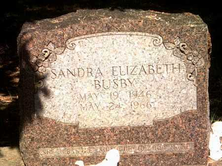 BUSBY, SANDRA ELIZABETH - Jackson County, Arkansas | SANDRA ELIZABETH BUSBY - Arkansas Gravestone Photos