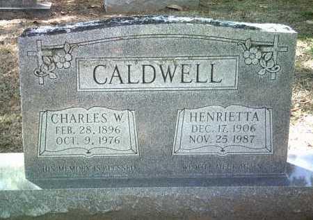 CALDWELL, HENRIETTA - Jackson County, Arkansas | HENRIETTA CALDWELL - Arkansas Gravestone Photos