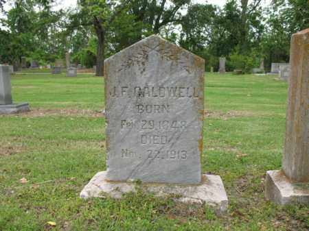 CALDWELL, JOHN FRANKLIN - Jackson County, Arkansas | JOHN FRANKLIN CALDWELL - Arkansas Gravestone Photos