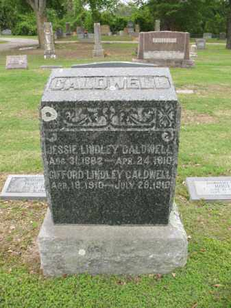 CALDWELL, JESSIE LINDLEY - Jackson County, Arkansas | JESSIE LINDLEY CALDWELL - Arkansas Gravestone Photos