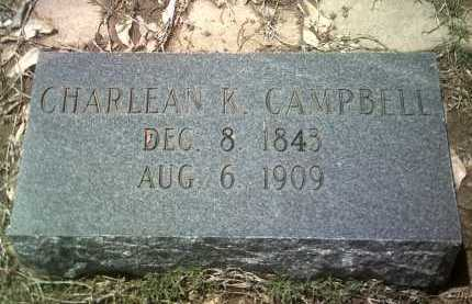 CAMPBELL, CHARLEAN K - Jackson County, Arkansas | CHARLEAN K CAMPBELL - Arkansas Gravestone Photos