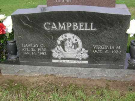 CAMPBELL, HAWLEY G - Jackson County, Arkansas | HAWLEY G CAMPBELL - Arkansas Gravestone Photos