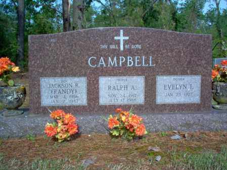 CAMPBELL, RALPH A - Jackson County, Arkansas | RALPH A CAMPBELL - Arkansas Gravestone Photos