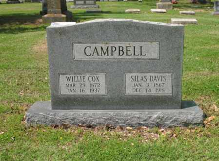 CAMPBELL, WILLIE - Jackson County, Arkansas | WILLIE CAMPBELL - Arkansas Gravestone Photos
