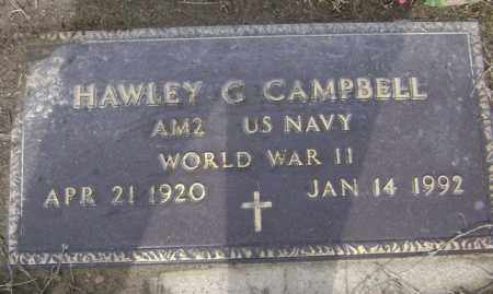 CAMPBELL (VETERAN WWII), HAWLEY G - Jackson County, Arkansas | HAWLEY G CAMPBELL (VETERAN WWII) - Arkansas Gravestone Photos