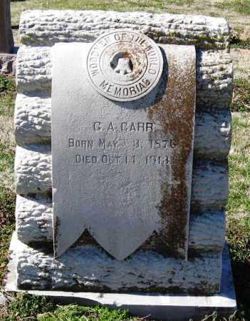 CARR, G A - Jackson County, Arkansas | G A CARR - Arkansas Gravestone Photos