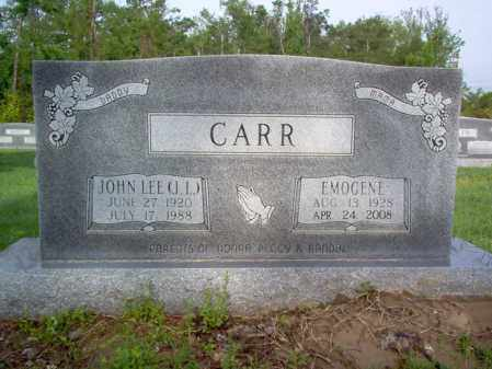 "CARR, JOHN LEE  ""J L"" - Jackson County, Arkansas 
