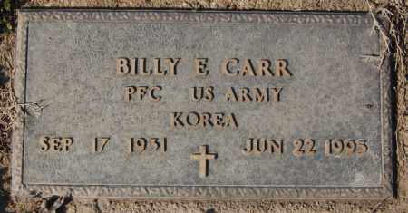 CARR (VETERAN KOR), BILLY E - Jackson County, Arkansas | BILLY E CARR (VETERAN KOR) - Arkansas Gravestone Photos