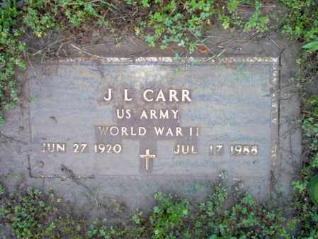 "CARR (VETERAN WWII), JOHN LEE  ""J L"" - Jackson County, Arkansas 