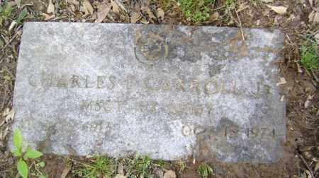 CARROLL, JR (VETERAN), CHARLES EDWARD - Jackson County, Arkansas | CHARLES EDWARD CARROLL, JR (VETERAN) - Arkansas Gravestone Photos