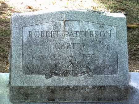 CARTER, ROBERT PATTERSON - Jackson County, Arkansas | ROBERT PATTERSON CARTER - Arkansas Gravestone Photos