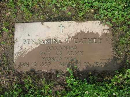 CATHEY (VETERAN WWI), BENJAMIN FRANK - Jackson County, Arkansas   BENJAMIN FRANK CATHEY (VETERAN WWI) - Arkansas Gravestone Photos