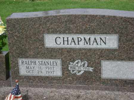 CHAPMAN, RALPH STANLEY - Jackson County, Arkansas | RALPH STANLEY CHAPMAN - Arkansas Gravestone Photos