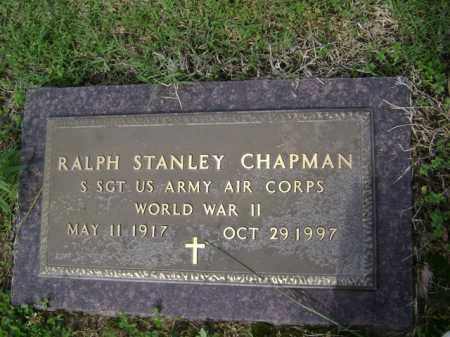 CHAPMAN (VETERAN WWII), RALPH STANLEY - Jackson County, Arkansas | RALPH STANLEY CHAPMAN (VETERAN WWII) - Arkansas Gravestone Photos