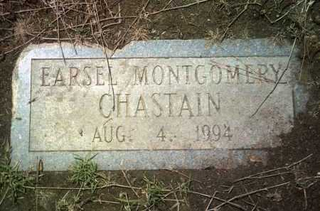 CHASTAIN (PIC2), EARSEL MONTGOMERY - Jackson County, Arkansas | EARSEL MONTGOMERY CHASTAIN (PIC2) - Arkansas Gravestone Photos
