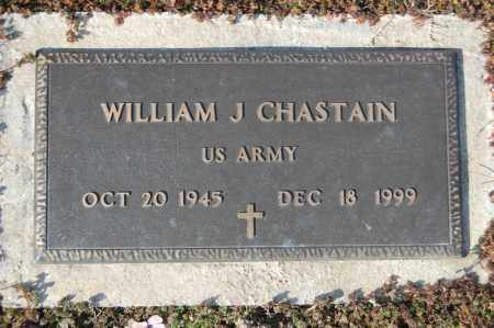 CHASTAIN (VETERAN), WILLIAM J - Jackson County, Arkansas | WILLIAM J CHASTAIN (VETERAN) - Arkansas Gravestone Photos