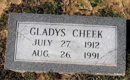 CHEEK, GLADYS - Jackson County, Arkansas | GLADYS CHEEK - Arkansas Gravestone Photos