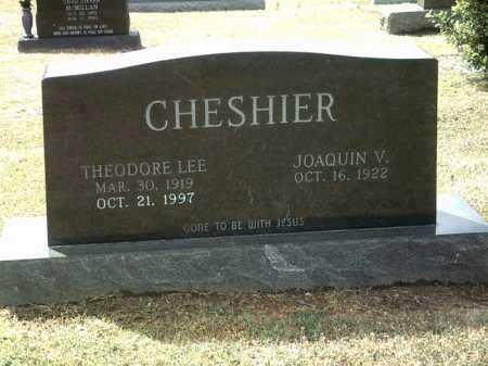 CHESHIER, THEODORE LEE - Jackson County, Arkansas | THEODORE LEE CHESHIER - Arkansas Gravestone Photos