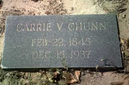 CHUNN, CARRIE V - Jackson County, Arkansas | CARRIE V CHUNN - Arkansas Gravestone Photos
