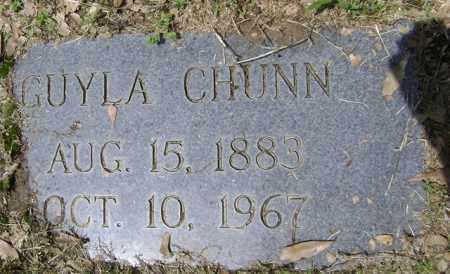 CHUNN, GUYLA - Jackson County, Arkansas | GUYLA CHUNN - Arkansas Gravestone Photos