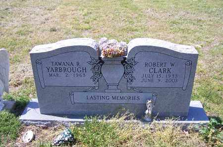 CLARK, ROBERT W - Jackson County, Arkansas | ROBERT W CLARK - Arkansas Gravestone Photos