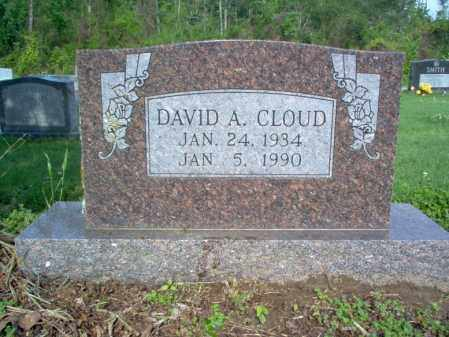 CLOUD, DAVID A - Jackson County, Arkansas | DAVID A CLOUD - Arkansas Gravestone Photos