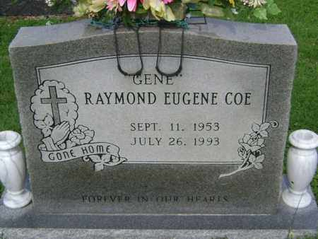 "COE, RAYMOND EUGENE ""GENE"" - Jackson County, Arkansas | RAYMOND EUGENE ""GENE"" COE - Arkansas Gravestone Photos"