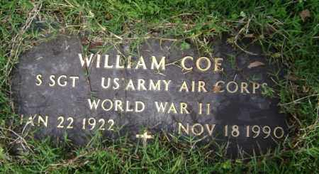 COE (VETERAN WWII), WILLIAM - Jackson County, Arkansas | WILLIAM COE (VETERAN WWII) - Arkansas Gravestone Photos