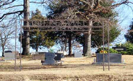 *COFFEYVILLE CEMETERY GATE,  - Jackson County, Arkansas |  *COFFEYVILLE CEMETERY GATE - Arkansas Gravestone Photos