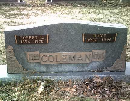 COLEMAN, RAYE - Jackson County, Arkansas | RAYE COLEMAN - Arkansas Gravestone Photos
