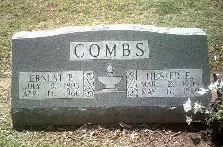 COMBS, ERNEST P - Jackson County, Arkansas | ERNEST P COMBS - Arkansas Gravestone Photos