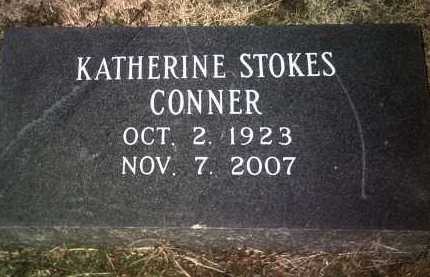 STOKES CONNER, KATHERINE - Jackson County, Arkansas | KATHERINE STOKES CONNER - Arkansas Gravestone Photos